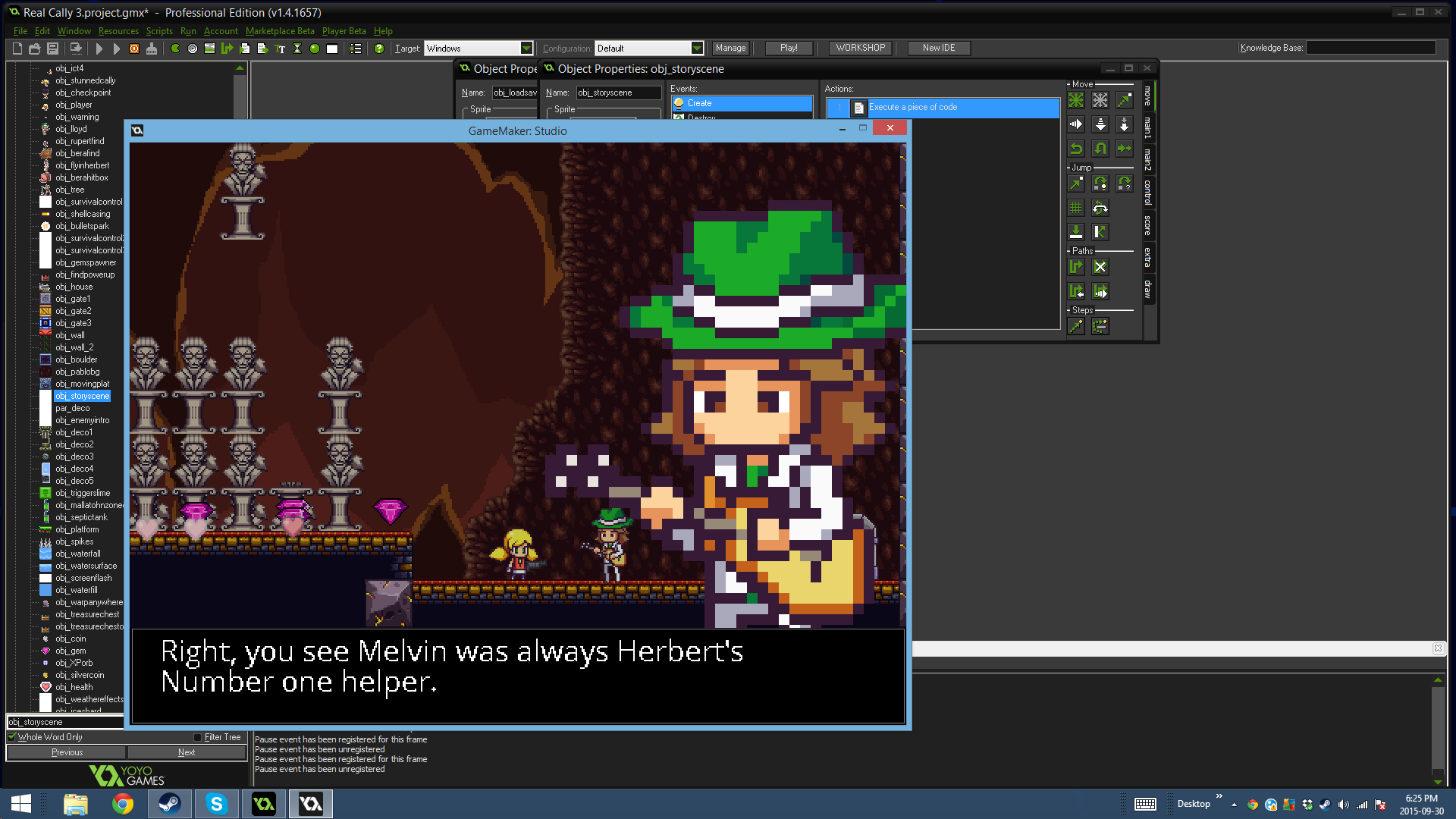 How to create a game in Game Maker